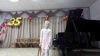 Школьный конкурс пианистов 2016 год 0-1 класс