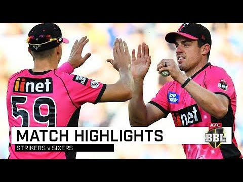 Sixers topple Strikers in BBL upset | KFC BBL|08