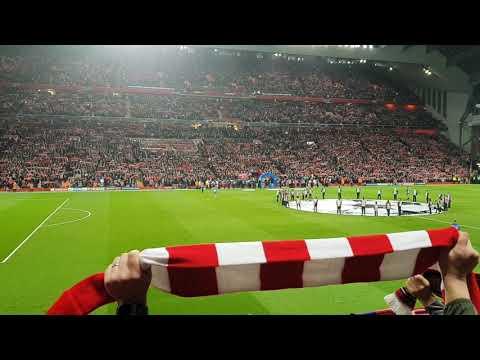 YNWA Liverpool vs PSG 18/09/2018