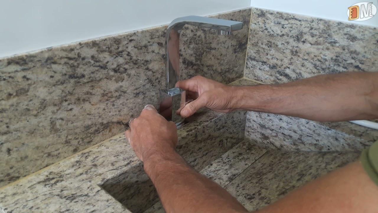 Como instalar uma torneira
