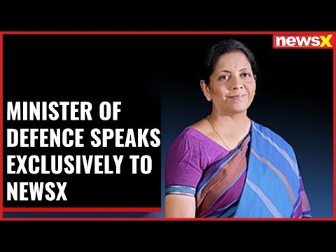 Nirmala Sitharaman, Minister of Defence speaks exclusively to NewsX