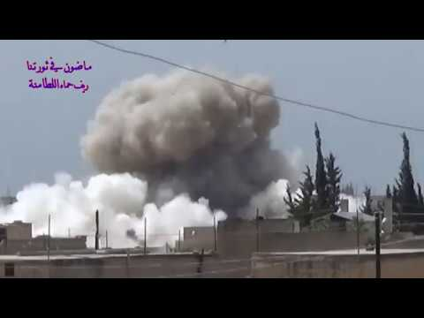 من رأى رأى العين إجرام الروس والنظام في مدينة اللطامنة يُدرك ما يحدث في الغوطة