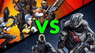 Borderlands 2 Versus Destiny Comparison (Why I think Borderlands is Better) #Pumathoughts