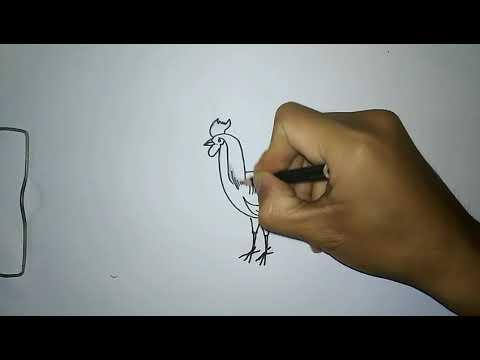 Mewarnai Ayam Jago Youtube