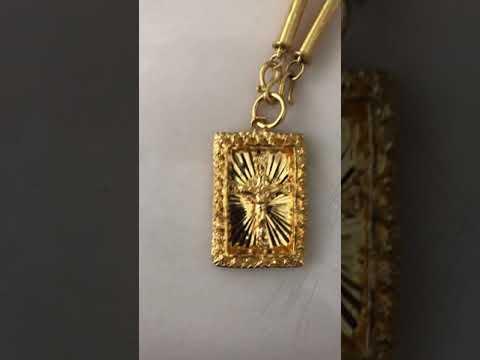 24k Gold Necklace Pendant