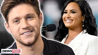Niall Horan Fangirls Over Demi Lovato's SuperBowl Performance!