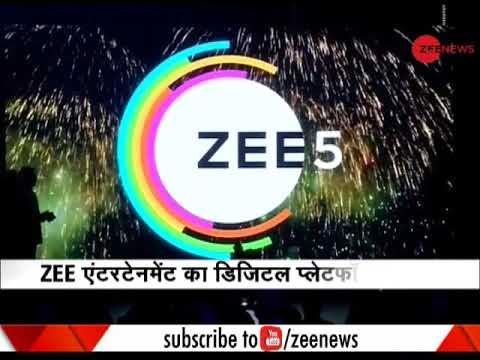 Zee5, Zee Entertainment's one-stop digital entertainment platform, launched