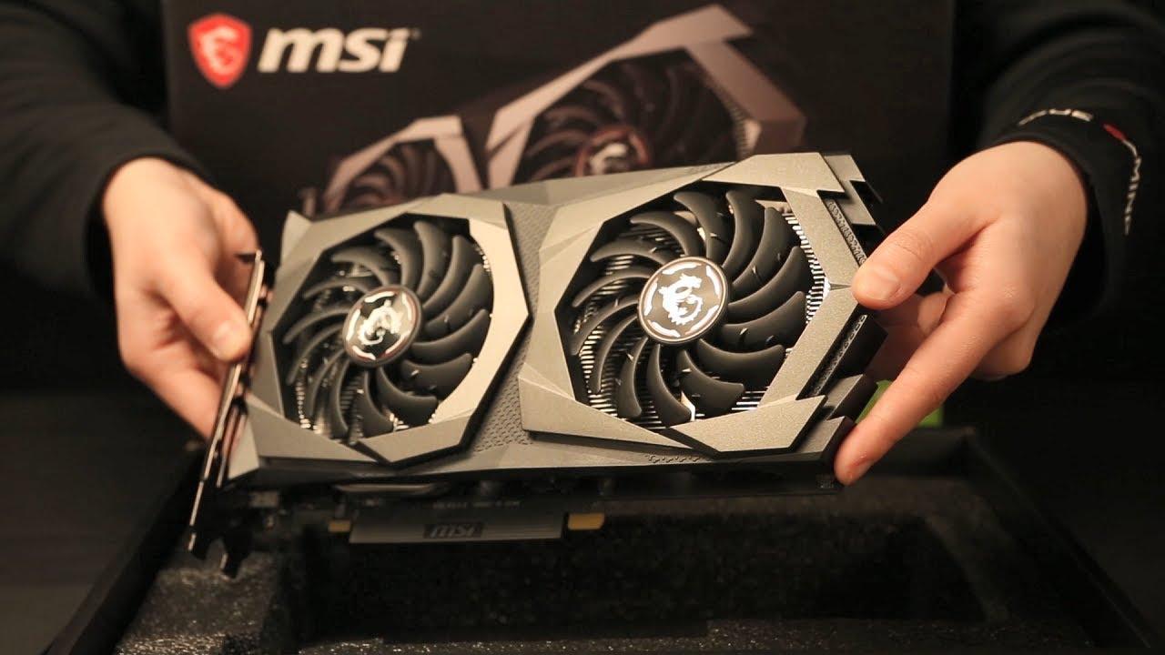 UNBOXING - MSI GeForce® GTX 1650 GAMING X     MSI