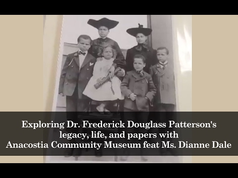 Exploring Dr. Frederick Douglass Patterson's papers with Anacostia Community Museum