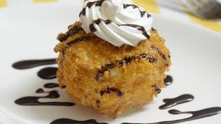Fried Ice Cream Recipe | Quick Dessert