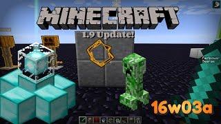 Minecraft - CZ/SK - 1.9 Snapshot [16w03a] - Oprava buglého Knockbacku ! A dalších chyb