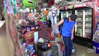 Chair prank shocks shoppers in Rocket Fizz