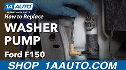 How to Replace Windshield Washer Pump 09-14 Ford F-150