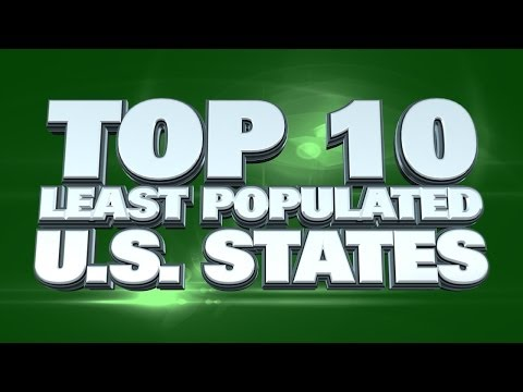 USA States With The Smallest Populations 2014