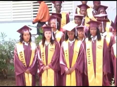 Castle Bruce Secondary School Graduation Ceremony 2014