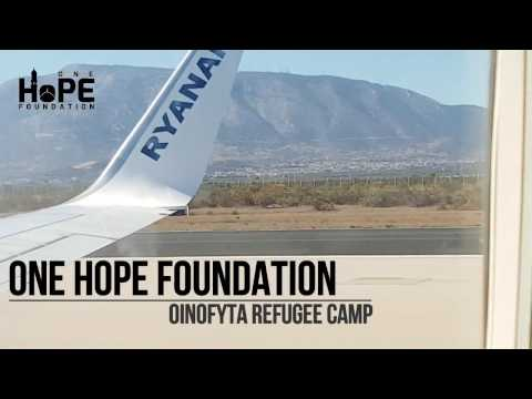 Visiting The Oinofyta Refugee Camp In Athens, Greece - One Hope Foundation
