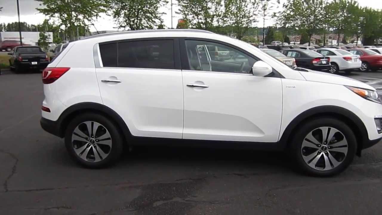 2011 Kia Sportage White Stock 730796 Youtube