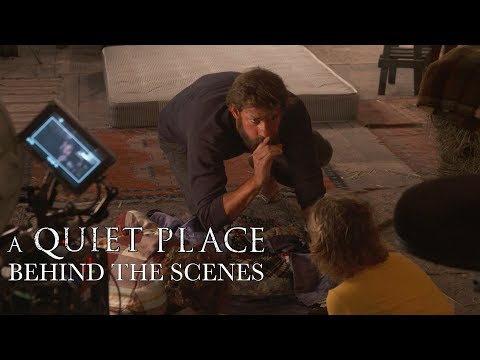 'A Quiet Place' Behind The Scenes