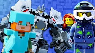 LEGO Fortnite, Minecraft & Overwatch STOP MOTION | LEGO Superheroes | Billy Bricks Compilations