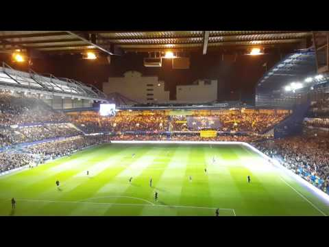 Pre-match light show Chelsea Vs. Liverpool 16.09.2016