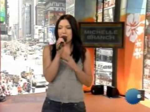 Michelle Branch   TRL Host  Part 1