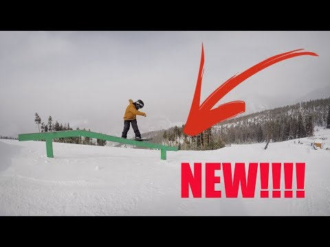 Keystones New Park!  - Colorado Snowboarding - (Top To Bottom)