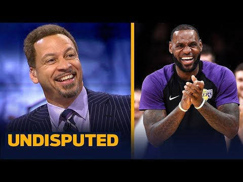Chris Broussard on LeBron's return to Cleveland as a Laker | NBA | UNDISPUTED