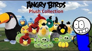 My Angry Birds Plush Collection