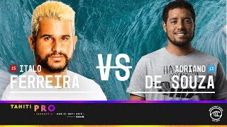 Adriano de Souza Pulls Massive Buzzer Beater at Tahiti Pro