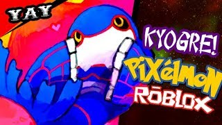 Kyogre Fofo No Minecraft Pixelmon No Roblox...