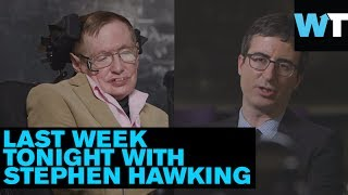 Stephen Hawking vs. John Oliver! | What's Trending Now