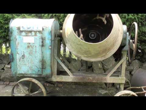 Petter Diesel - Cement Mixer