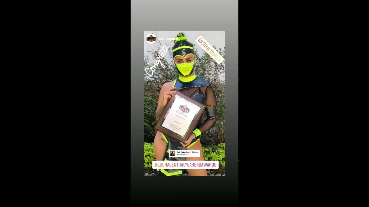 Lady Shani 1 Marzo 2020 - Instagram Stories HD - Luchadora