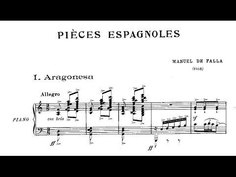 Manuel De Falla: Cuatro Piezas Españolas (1909)