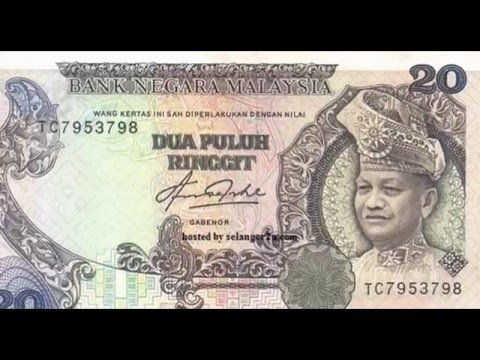 malaysia money old paper