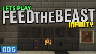 Lets Play - FTB Infinity - 'The ULTIMATE Pickaxe!' (Cobalt/Manyullyn) #5