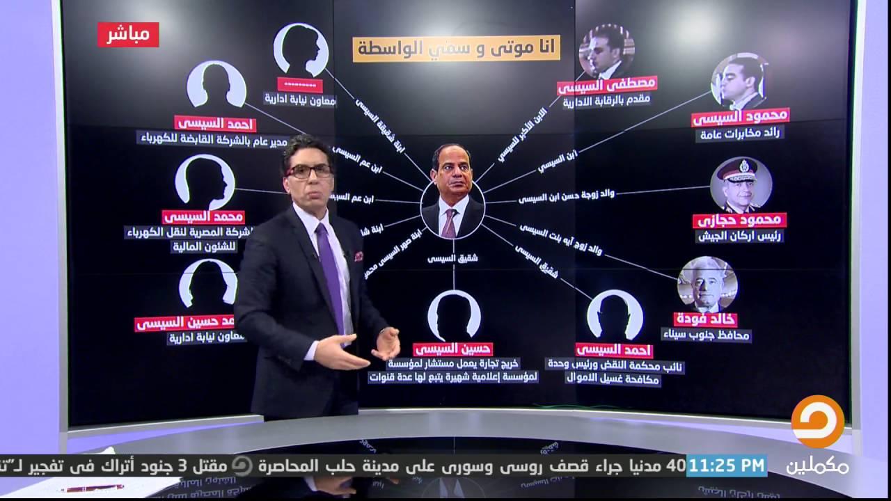 مصر النهاردة هل تعرف كم فرد من عائلة عبد الفتاح السيسي م عين في مناصب عليا في الدولة Youtube