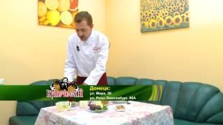 014 @ Готовим «По купечески». Салат из инжира и яблок