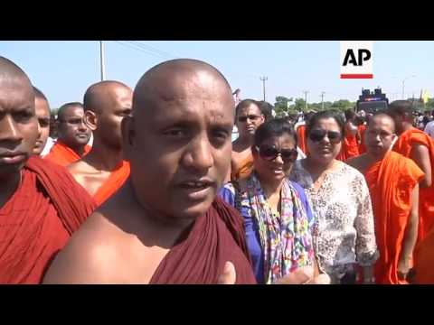 Clashes as Sri Lankans protest China port deal