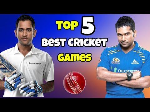 Top 5 Latest Cricket Games For Android |Cricket Games For Android & Ios|Telugu Tech Winner