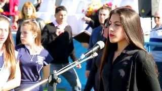 Himno Nacional Argentino por Verónica Escobar