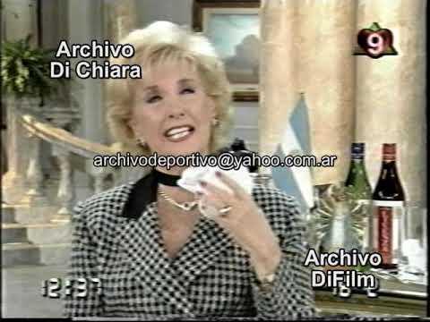 Assumpta Serna con Mirtha Legrand 1996 DiFilm