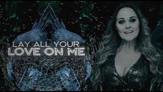 AMBERIAN DAWN - Lay All Your Love On Me (ABBA Cover) (Official Lyric Video) | Napalm Records