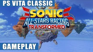 Sonic & All-Stars Racing Transformed PS Vita Gameplay | PS Vita Classic