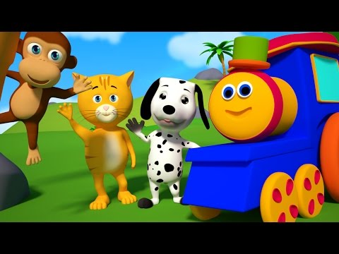 Bob The Train We Go Song Original Kids Song Nursery Rhymes For Childrens Bob Cartoons S01EP03