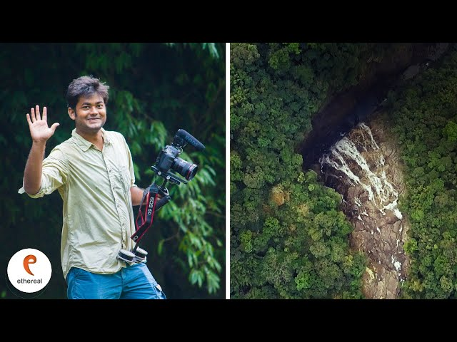 Meghalaya's 'Mysterious' Waterfall!