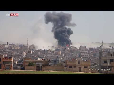 TRT Haber İdlib şehir merkezine girdi