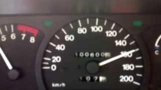 Daewoo Nexia Highway test, Daewoo Nexia autópálya teszt, A15MF motor code, Daewoo Cielo Heaven