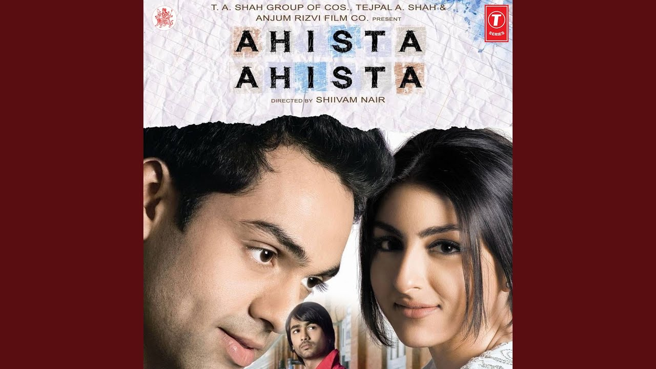 Love you unconditionally (ahista ahista) listen to songs online.