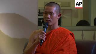 Thai cave boys speak at exhibition of their ordeal